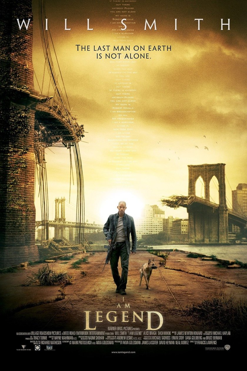 I AM LEGEND, Will Smith, 2007. ©Warner Bros./Courtesy Everett Collection